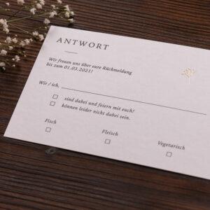 Antwortkarte